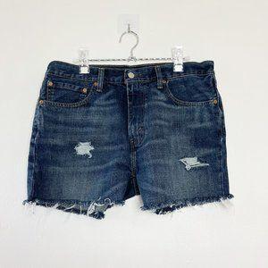 LEVI'S 541 High Rise Cutoff Jeans Shorts